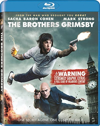Brothers Grimsby Cohen Strong Wilson Blu Ray Unrated
