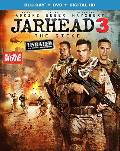 Jarhead 3 The Siege Adkins Weber Haysbert Blu Ray DVD Dc Unrated