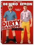 Dirty Grandpa De Niro Efron DVD Dc Unrated