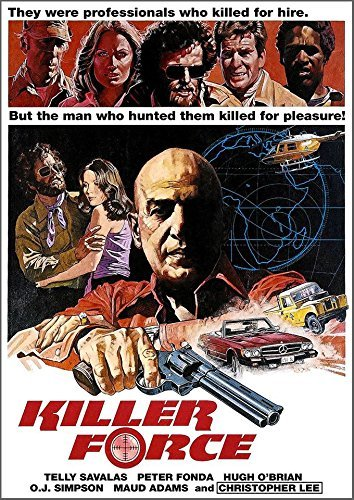 Killer Force (1975) Savalas Fonda DVD R