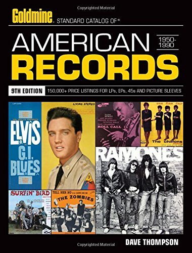 Dave Thompson Standard Catalog Of American Records 1950 1990 0009 Edition;