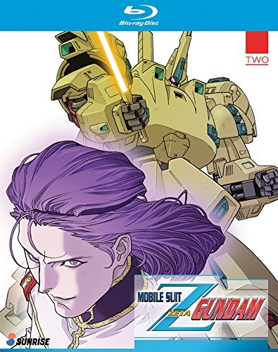 Mobile Suit Zeta Gundam Part 2 Blu Ray