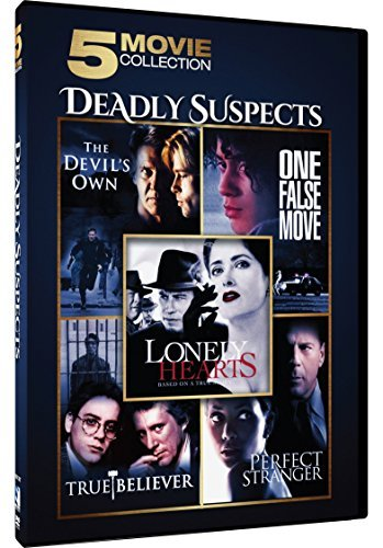 Deadly Suspects 5 Movie Collection DVD
