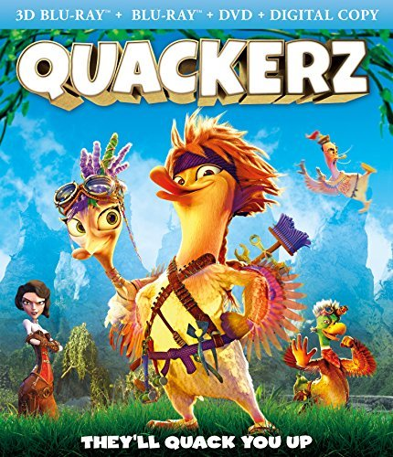 Quackerz Quackerz Blu Ray 3d DVD Dc Nr