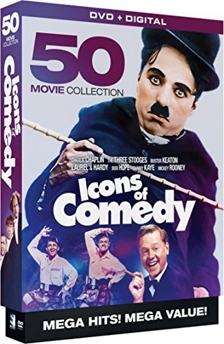 Icons Of Comedy 50 Movie Megapack DVD