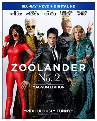 Zoolander 2/Stiller/Wilson/Cruz/Wiig/Ferrell@Blu-ray/Dvd/Dc@Pg13