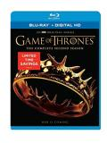 Game Of Thrones Season 2 Blu Ray Dc Limited Time Bargain Price