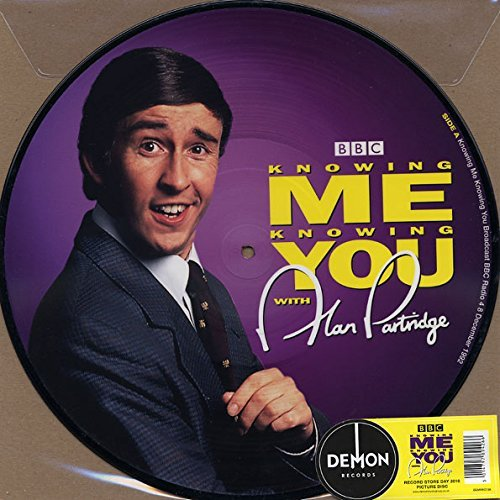 Alan Partridge Knowing Me Knowing You Import Gbr Picture Disc