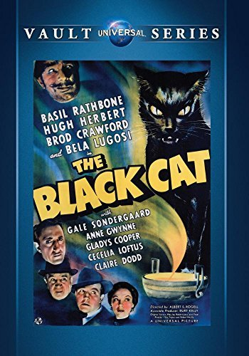 Black Cat Rathbone Herbert Made On Demand Takes 2 3 Weeks For Deivery