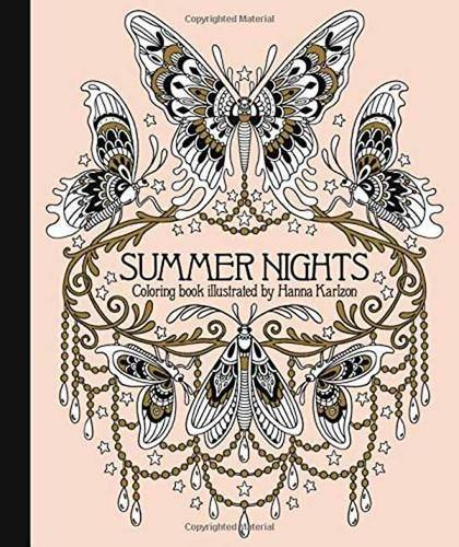 "Hanna Karlzon Summer Nights Coloring Book Originally Published In Sweden As ""sommarnatt"