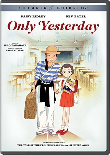 Only Yesterday Studio Ghibli DVD Pg