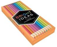Chronicle Books Bright Ideas Neon Colored Pencils
