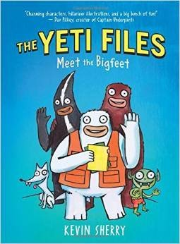 Kevin Sherry The Yeti Files Meet The Bigfeet