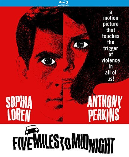 Five Miles To Midnight (1962) Loren Perkins Blu Ray Nr