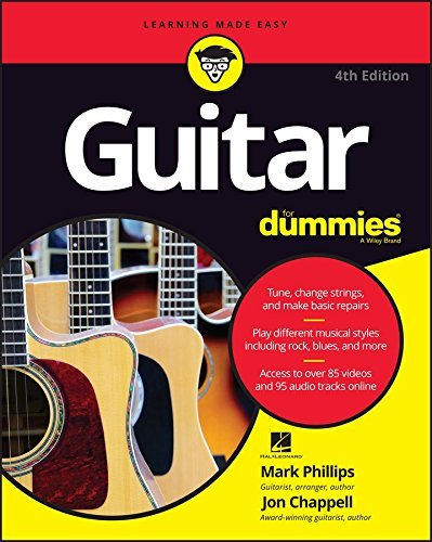 Mark Phillips Guitar For Dummies 0004 Edition;