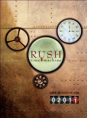 Rush Time Machine 2011 Live In Cleveland Blu Ray