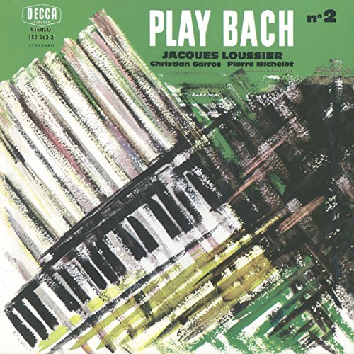Jacques Loussier Bach Play Back No. 2
