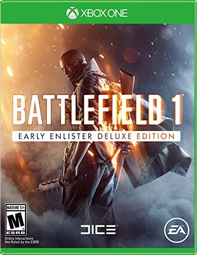 Xbox One Battlefield 1 Early Enlisters Deluxe Edition