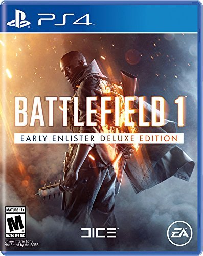 Ps4 Battlefield 1 Early Enlisters Deluxe Edition