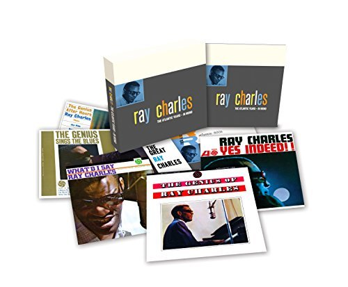 """Ray Charles/Atlantic Years In Mono@7 Lps 180g Vinyl Box Set With A 12"""" X 12"""" 28-Page booklet"""