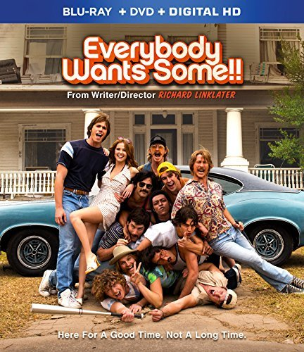 Everybody Wants Some Jenner Hoechlin Guzman Blu Ray DVD Dc R