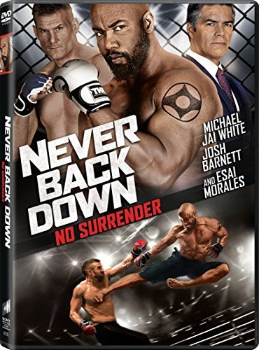 Never Back Down No Surrender White Barnett DVD R