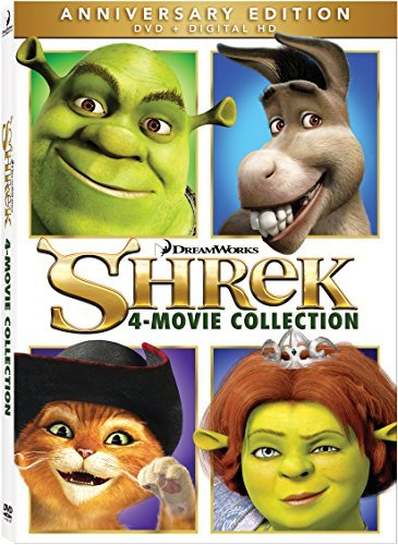 Shrek 4 Movie Collection DVD Pg