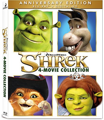 Shrek 4 Movie Collection Blu Ray Pg