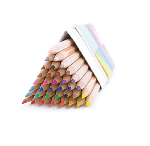 Colored Pencils Triangle Colored Pencils Set Of 36
