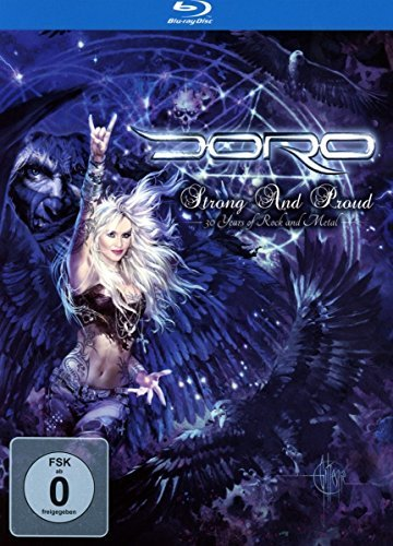 Doro Strong & Proud Behind The Curt Import Gbr 2 Blu Ray