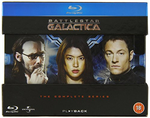 Battlestar Galactica (2004) The Complete Series Blu Ray Nr