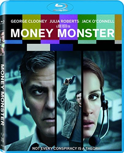 Money Monster Clooney Roberts O'connell Blu Ray R