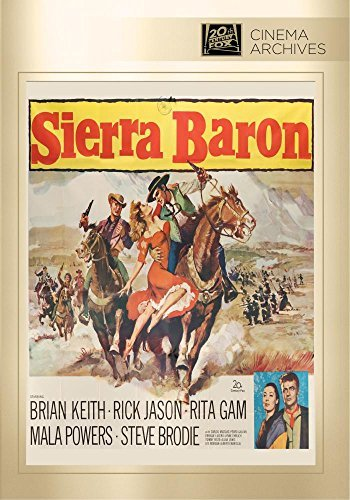 Sierra Baron Sierra Baron DVD Mod This Item Is Made On Demand Could Take 2 3 Weeks For Delivery