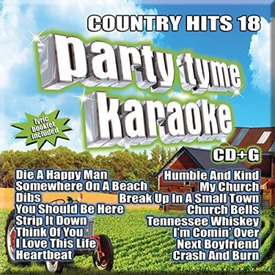 Party Tyme Karaoke Country Hits 18