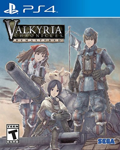 Ps4 Valkyria Chronicles Remastered