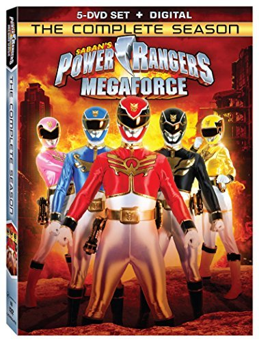 Power Rangers Megaforce Complete Season DVD