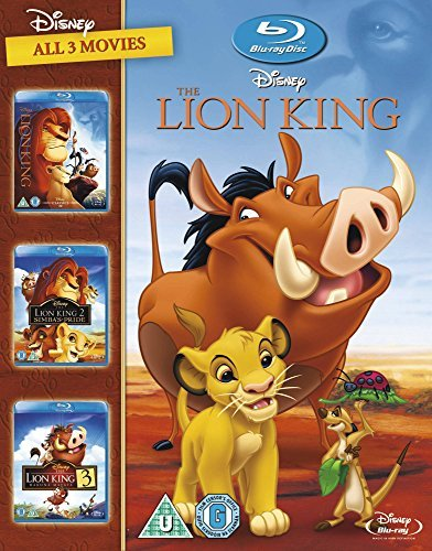 The Lion King Trilogy Collection Blu Ray