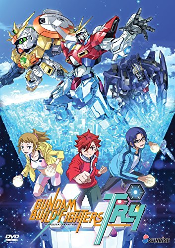 Gundam Build Fighters Try Complete Collection DVD Pg