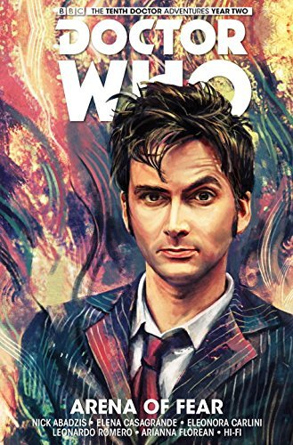 Nick Abadzis Doctor Who The Tenth Doctor Volume 5 Arena Of Fear