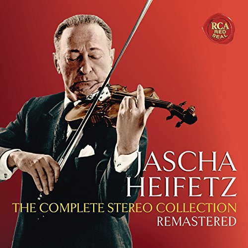 Jascha Heifetz Complete Stereo Collection Remastered