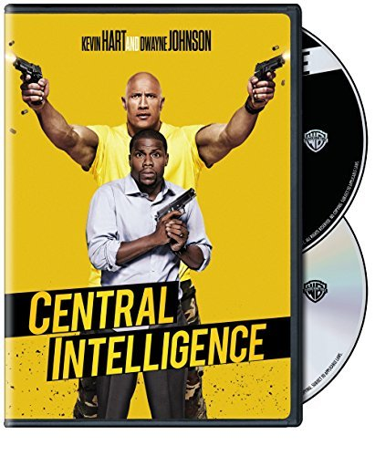 Central Intelligence Johnson Hart DVD Pg13