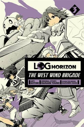 Koyuki Log Horizon The West Wind Brigade Volume 3
