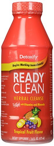 Detoxify Ready Clean Tropical 16oz