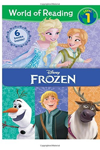 Disney Book Group World Of Reading Frozen Boxed Set Level 1