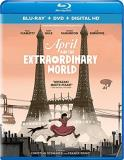 April & The Extraordinary World April & The Extraordinary World Blu Ray DVD Dc Pg