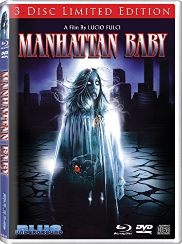 Manhattan Baby Connelly Lenzi Blu Ray CD Nr