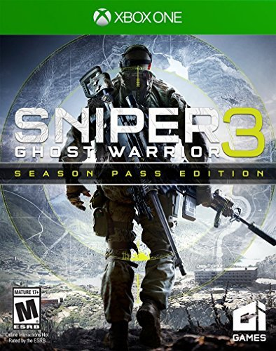 Xbox One Sniper Ghost Warrior 3 Season Pass Edition