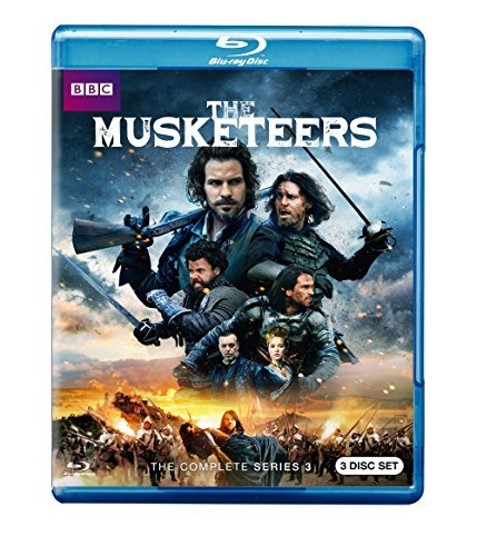 Musketeers Season 3 Blu Ray
