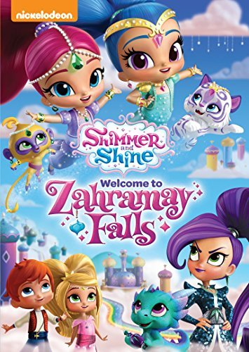 Shimmer & Shine Welcome To Zahramay Falls DVD