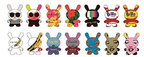 Dunny Andy Warhol Mini Series